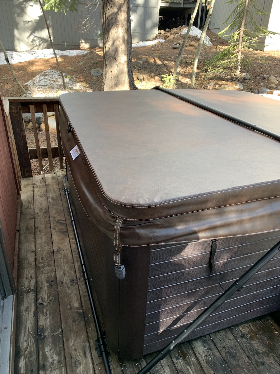 hottub install lake tahoe 2019