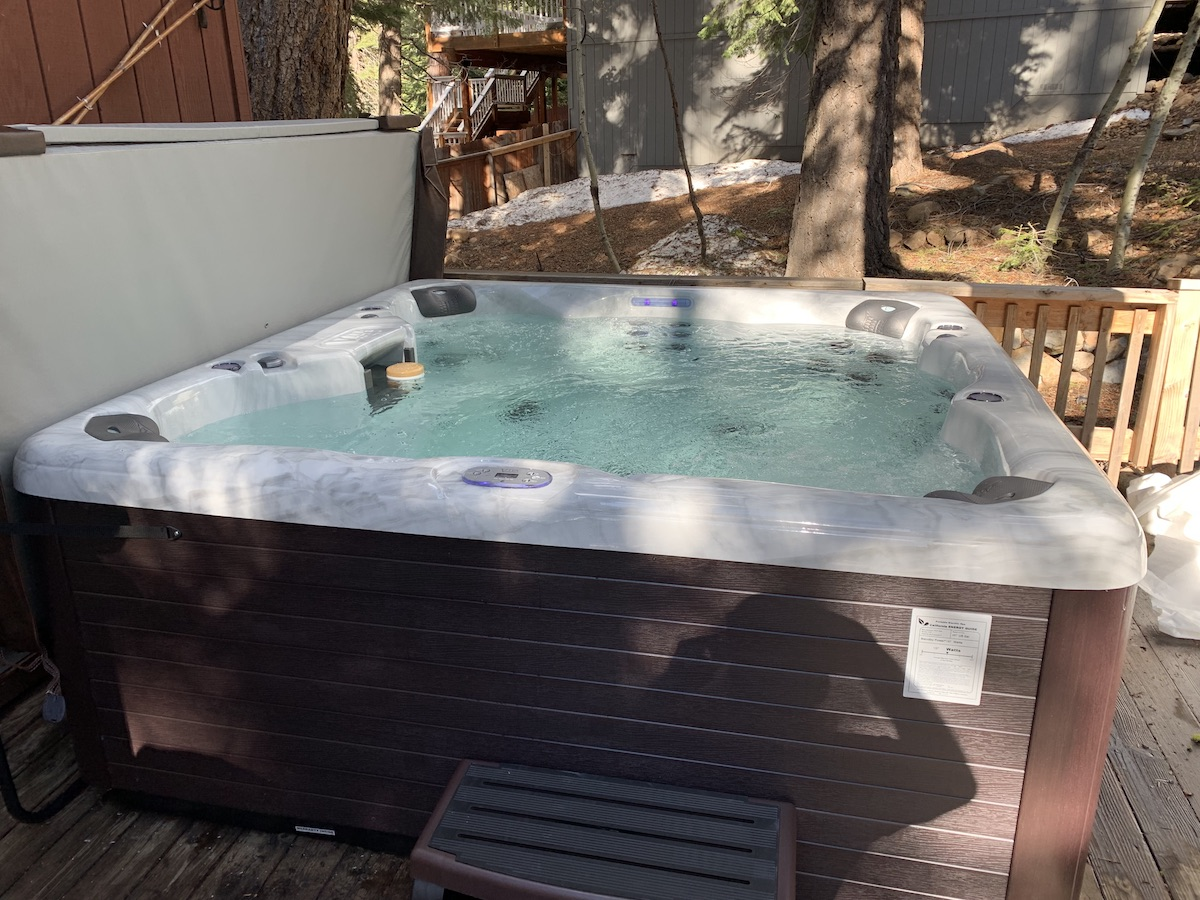 hottub ready to go